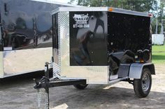 enclosed motorcycle trailer on Pinterest | Trailers, Toy ...