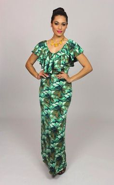 Island Wear, Island Outfit, Hawaiian Wear, Hawaiian Fashion, Hawaiian Dresses, Samoan Dress, Island Style Clothing, Tropical Dress, Dress Patterns