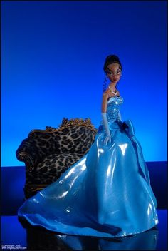 Ashton Drake and Integrity Toys  Princess Tiana  Real Princess    Ashton-Drake Presents Couture Fantasy by Integrity Toys. The first in the series is Disney's Princess Tiana!  Your price: $107.99
