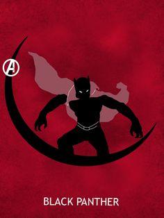 Black Panther Poster by Mr-Saxon.deviantart.com on @deviantART