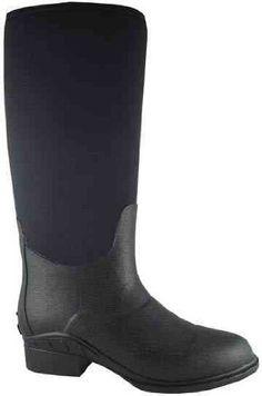 Smoky Mountain 6710 Women's Waterproof Rubber/Neoprene Boot Black Smoky Mountain. $75.00