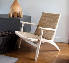 Roxanne Chair in European Oak and Danish Cord