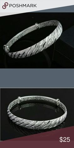 Very beautiful sliver bracelet New just came very beautiful Jewelry Bracelets