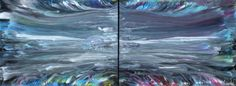 Yin and Yang - Abstract Art - Acrylicmind.com is my site. Painting is a passion, an addiction that will not be easily overthrown. ~ Eric Siebenthal
