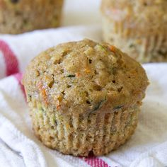 Want something healthy for breakfast, that is satisfying and wholesome and also really delicious? These Zucchini Carrot Oatmeal Muffins are the perfect option!