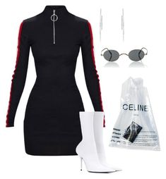 """Untitled #5985"" by teastylef ❤ liked on Polyvore featuring Balenciaga, Hirotaka and Oliver Peoples"
