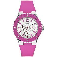 Guess Women's U10657L2 Pink Silicone Quartz Watch with White Dial GUESS,http://www.amazon.com/dp/B006GU0QPW/ref=cm_sw_r_pi_dp_tgRIrbCDFBA6418C