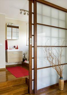 japanese sliding doors for bathroom