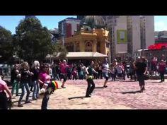 Vegan Flash Mob - Melbourne