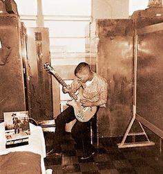 7-Jimi Hendrix when in army in early 1960