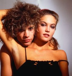 Diane Lane and Jon Bon Jovi, Beautiful! Jon Bon Jovi, Bon Jovi 80s, Old Love, The Good Old Days, George Roy Hill, Matthew Mcconaughey, Halle Berry, Celebrity Couples, 1980s