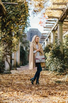 Fashion Mumblr Josie wears Coast's Ostaria Cape Coat as seen on Olivia Palermo