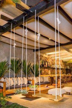 27 Amazing Photos of Fresh Patio Rooms Ideas Interiordesignsho. Plenty of space in the patio room - Pergola Ideas Cozy Backyard, Backyard Patio Designs, Backyard Landscaping, Pergola Patio, Backyard Ideas, Modern Pergola, Patio Bar, Landscaping Design, Cozy Patio