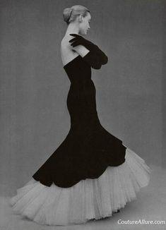 Balenciaga, the Mermaid gown, 1951