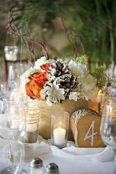 I like everything but the fall colors    #wedding #flowers #decor