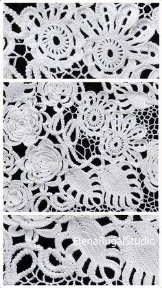 Irish Crochet, Crochet Lace, Irish Lace, Simple Designs, Needlework, Videos, Unique, Youtube, Simple Drawings