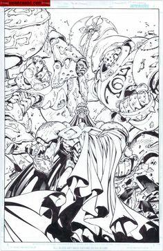 Kwan Chang :: For Sale Artwork :: Battle Chasers by artist Joe Madureira