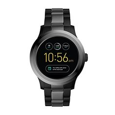 Fossil Q Q Founder Touchscreen Smartwatch - Men Wrist Watch on YOOX. The best online selection of Wrist Watches Fossil Q. Fossil Q, Fossil Watches, Women's Watches, Luxury Watches, Emporio Armani, Skagen, Wearable Technology, Stainless Steel Bracelet, Men's Clothing