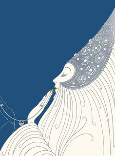 """The Bride"" by Erté"