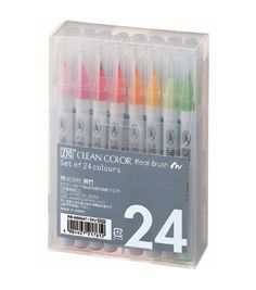 i did NOT know you could buy BRUSH PENS. that is incredible. very cool. much want. such wow.