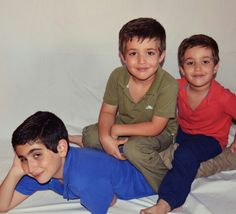 Dani,Sergio y Adri