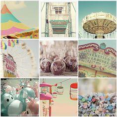 pink and aqua: the fair
