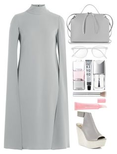"""""""buy ugly futuristic shoes"""" by juliehalloran ❤ liked on Polyvore featuring Valentino, BCBGMAXAZRIA, Jil Sander, RetroSuperFuture, LSA International and Christian Dior"""