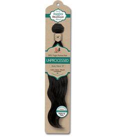 BOBBI BOSS® BonEla™ Brazilian Body Wave <br> 100% Virgin Human Hair