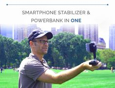 SMOVE: Smartphone Stabilizer & PowerBank in One | Indiegogo