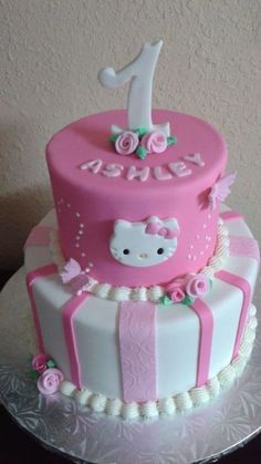 hello kitty birthday cakes ideas_