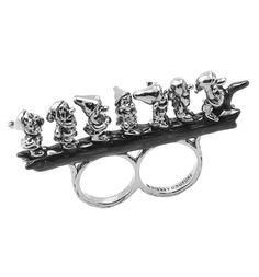 Siedmiu Krasnoludków na jednym pierścionku? Dlaczego nie! :) / Seven Dwarfs on One Ring. Why not, rule them all :)