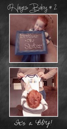Baby # 2 gender announcement