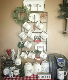 Rae Dunn mugs & containers
