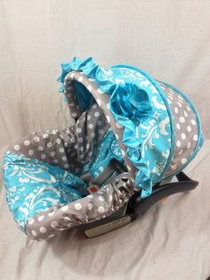 Custom Infant Car Seat Cover on Etsy