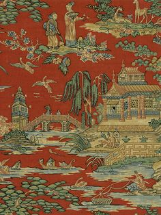 Shop for Red wall coverings at Steve's Blinds & Wallpaper. Browse a wide selection of wallpaper, borders and wall murals at discounted prices. Asian Wallpaper, Print Wallpaper, Pattern Wallpaper, Chinoiserie Wallpaper, Chinoiserie Chic, African Theme, Art Village, Asian Home Decor, Inspirational Wallpapers