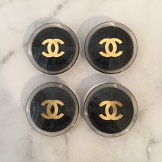 Chanel Set Of 9 Chanel Buttons WdIZVna8yl