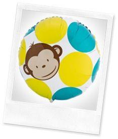 Mod Monkey party ideas w/ monkey cake tutorial