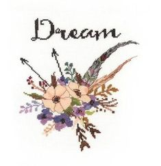 Never stop dreaming.... #crossstitch #needle #thread #dream