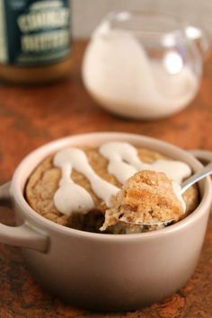 Speculoos Cookie Butter Baked Oatmeal for One « Healthy Food For Living