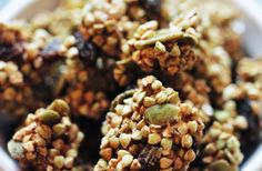 Crunchy Sprouted Buckwheat Granola