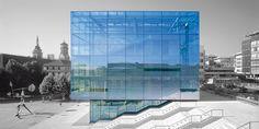glass cube // stuttgart museum of art | hascher + jehle architects | berlin, germany