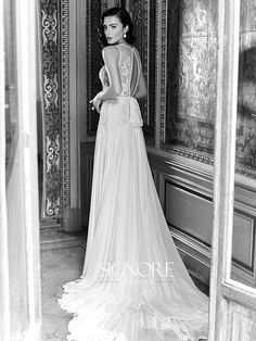 Wedding dress idea; Featured Dress: Signore Maison