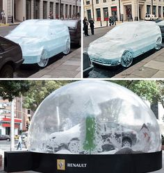 Renault guerrilla marketing campaign