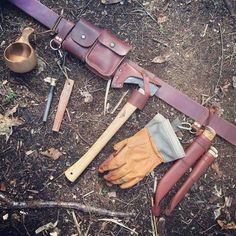 Fully loaded belt kit #bushcraft by jeffhatch