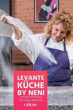 Zeit für Balagan! Im Online-Kochkurs zeigt dir Haya Molcho von NENI die Grundlagen der levantinischen Küche: bunt, gesund und super lecker! Jetzt ausprobieren! Super, Bunt, Style, Health, Cooking, Swag, Outfits
