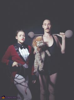 Themed Family Circus Portrait -Halloween Costume