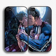 superman and wonder woman Couple Case iPhone case for by SegoPecel, $33.25