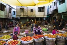 Shillong has one of India's largest and most colorful markets. Credit: Copyright 2015 Carla Capalbo