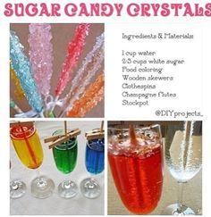 How to make sugar candy crystals
