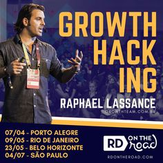 RD On The Road 2018 Growth Hacking E Commerce, Growth Hacking, Marketing Digital, Hacks, Rio De Janeiro, Porto, Events, Ecommerce, Tips